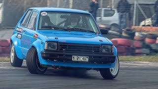 Starlet KP60 1.8T 20V engine swap drift project | Autokinisimag