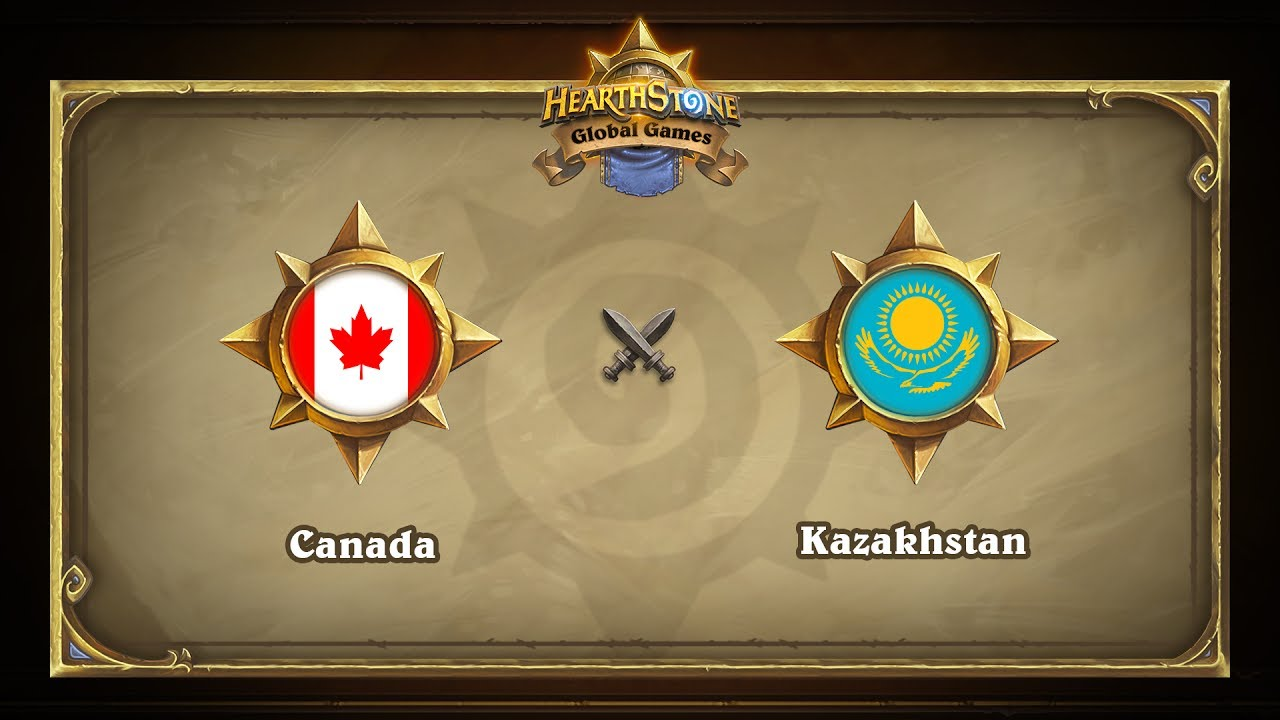 Канада vs Казахстан | Canada vs Kazakhstan | Hearthstone Global Games (14.06.2017)