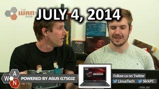The WAN Show: Samsung's 850 Pro 3D NAND SSD & NSA Sucks Again - July 4th, 2014
