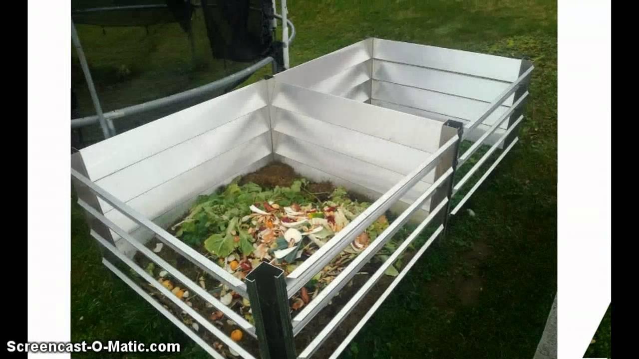 Metall komposter aus aluminium for Haus aus metall