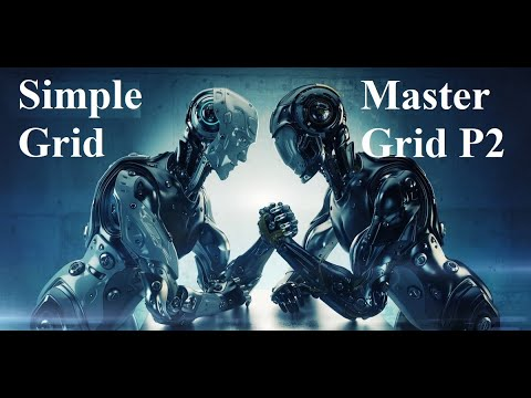 Сравнение сеточников:  Simple & Master Grid P2