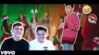 Ricegum - Naughty or Nice (Official Music Video Reaction)