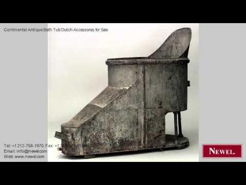 Continental Antique Bath Tub Dutch Accessories for Sale