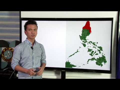 DOST-PAGASA LIVESTREAM:  5PM January 10, 2017 Public Weather Forecast