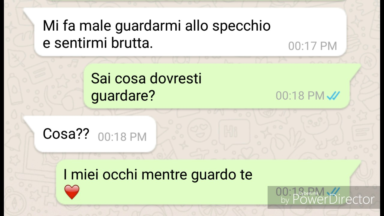 Amore in chat whatsapp