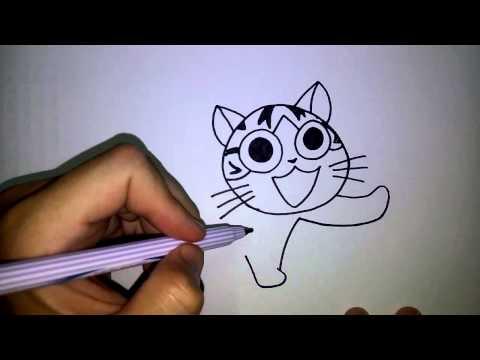 สอนวาดการ์ตูน แมวจี้ by วาดการ์ตูนกันเถอะ