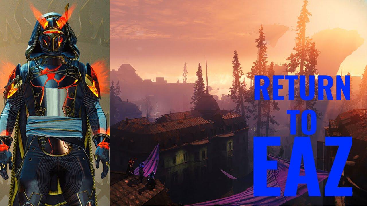 Destiny 2: Solstice of Heroes 2020 - European Aerial Zone Gameplay (EAZ)
