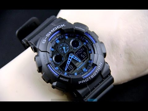 ff45ac5026d9 Casio G-Shock GA-100-1A2Er- Review  Not the best but The Coolest G Shock -  YouTube