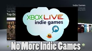 Microsoft Ending Indie Program for 360?!