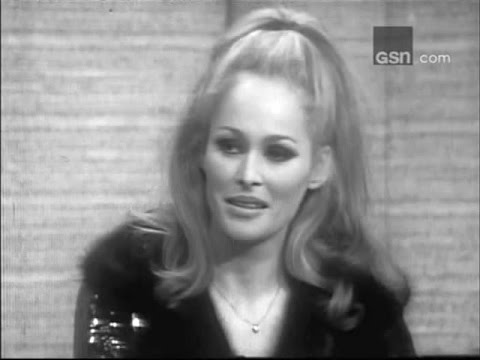 What's My Line?  Ursula Andress; PANEL: Henry Morgan, Gypsy Rose Lee Mar 19, 1967