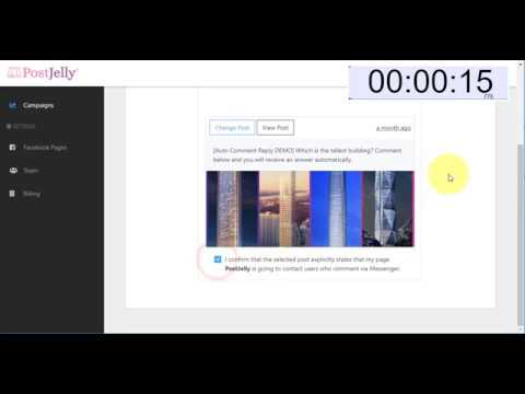 Homepage - PostJelly | Facebook post reply automation!
