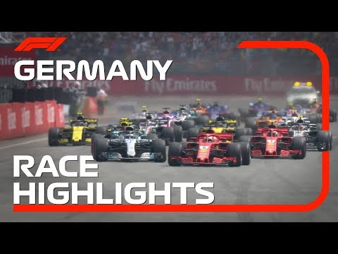2018 German Grand Prix: Race Highlights