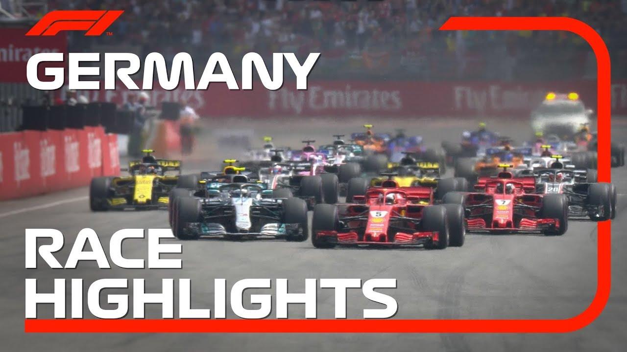 f22123784794b0 2018 German Grand Prix  Race Highlights - YouTube