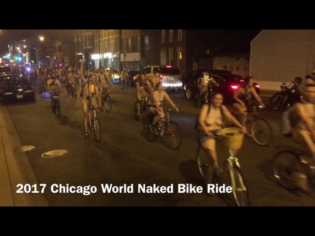 The 2017 Chicago Naked Bike Ride
