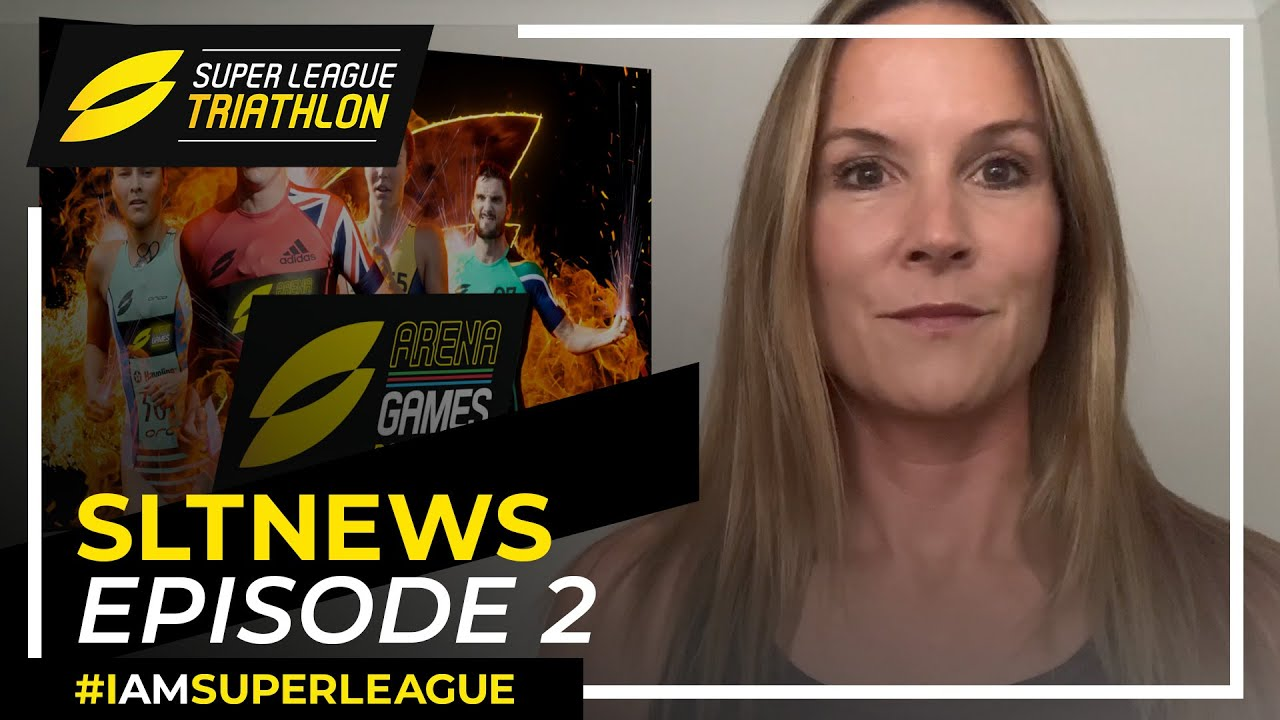 SLTN: Triathlon News with Annie Emerson including the SLT Arena Games