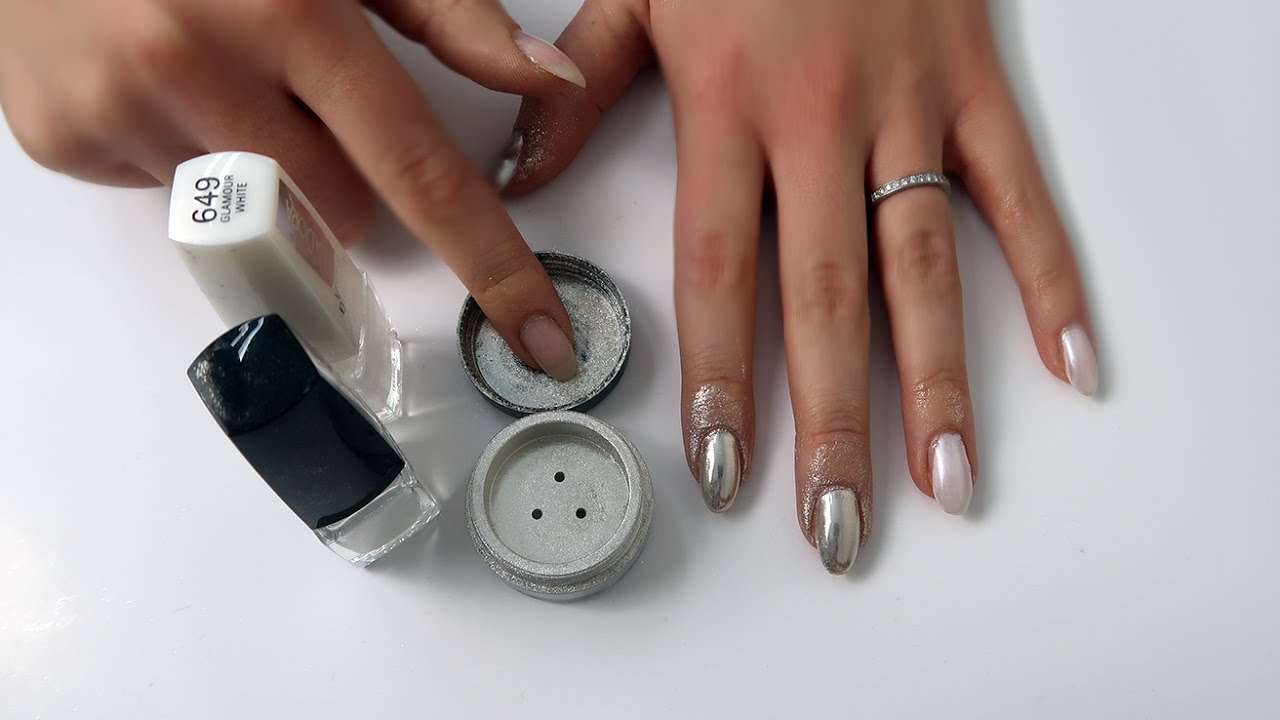 How to: IsaDora Chrome Nails - YouTube