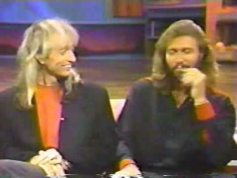 Bee Gees - Into The Night With Rick Dees 1991