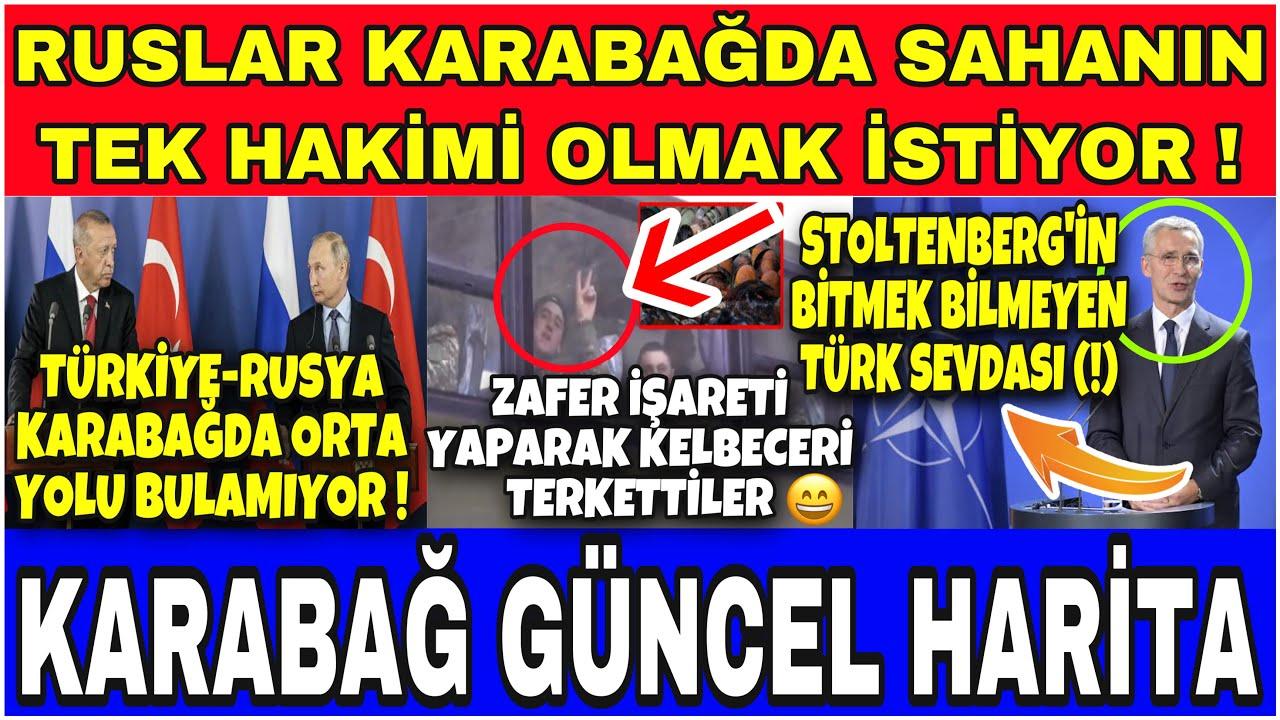 KARABAĞDA TÜRK ÜSSÜ RUSLAR İÇİN GEREKSİZMİŞ !! [ AZERBAYCAN KARABAĞ SON DURUM ]