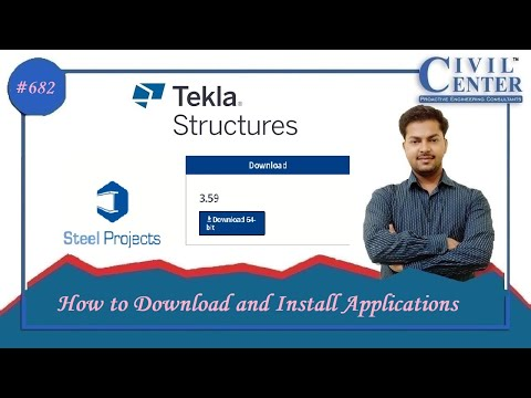 How to Download and Install Applications from Tekla Warehouse    Tekla Structures Tutorial