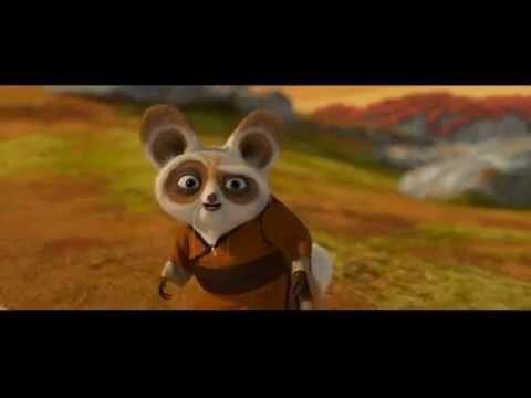 Kung fu panda po vs shifu training scene reversed youtube - Kung fu panda shifu ...