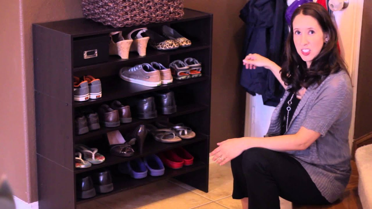 how to store shoes in a small space home organization