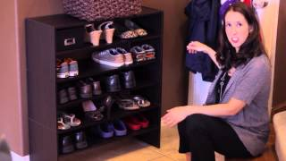 How To Store Shoes In A Small Space : Home Organization