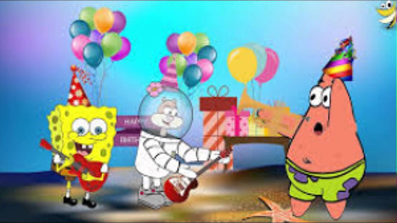 Spongebob Birthday Wallpaper Hd Youtube