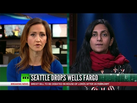 [769] Seattle drops Wells Fargo over Dakota Access Pipeline