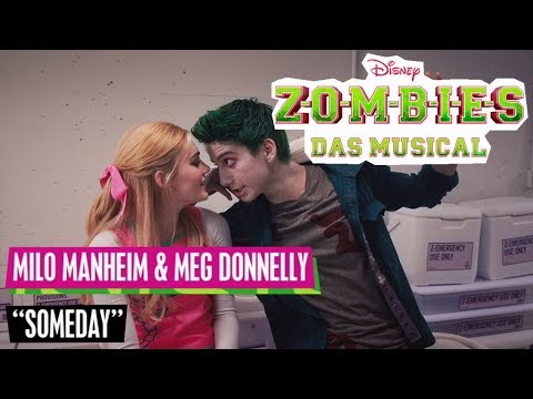 "ZOMBIES - DAS MUSICAL 🎵  Milo Manheim & Meg Donnelly: ""Someday"" 🎵 