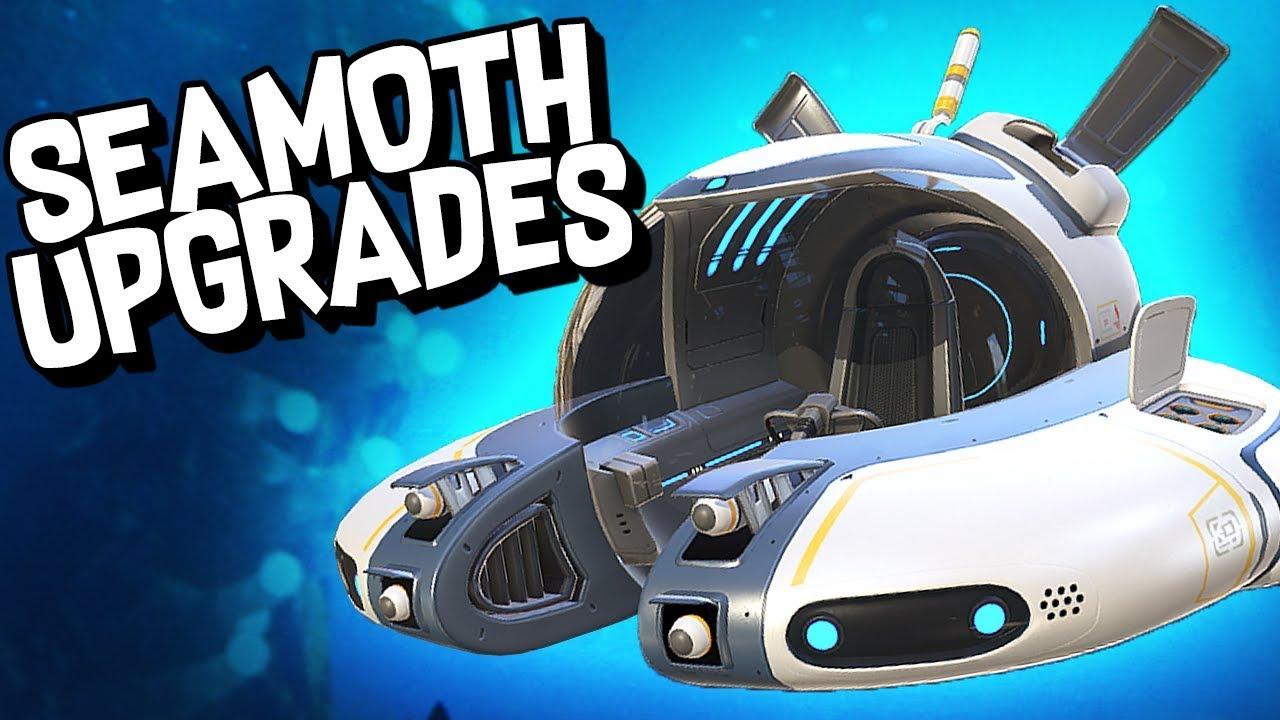 upgrading the seamoth subnautica