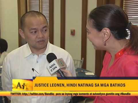 SC Justice Leonen responds to criticism