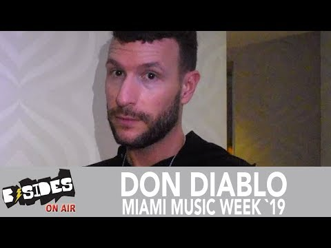 Don Diablo at Miami Music Week 2019: Talks Early Influences, New Music