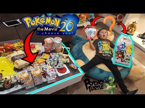 OPENING The HARDEST To Get BOOSTER PACKS!? Pokemon The New Movie Cards From Japan!! Mystery Bag!!