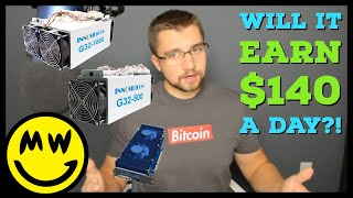 Will these Miners EARN $140 a day?! Innosilicon Grincoin ASIC Miners Specifications & Profitabil
