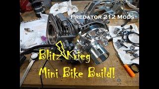 Blitz Krieg Mini Bike Build Project: Predator 212 Engine Mods