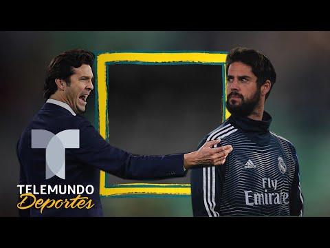 El dato que da la razón a Santiago Solari sobre Isco | La Liga | Telemundo Deportes