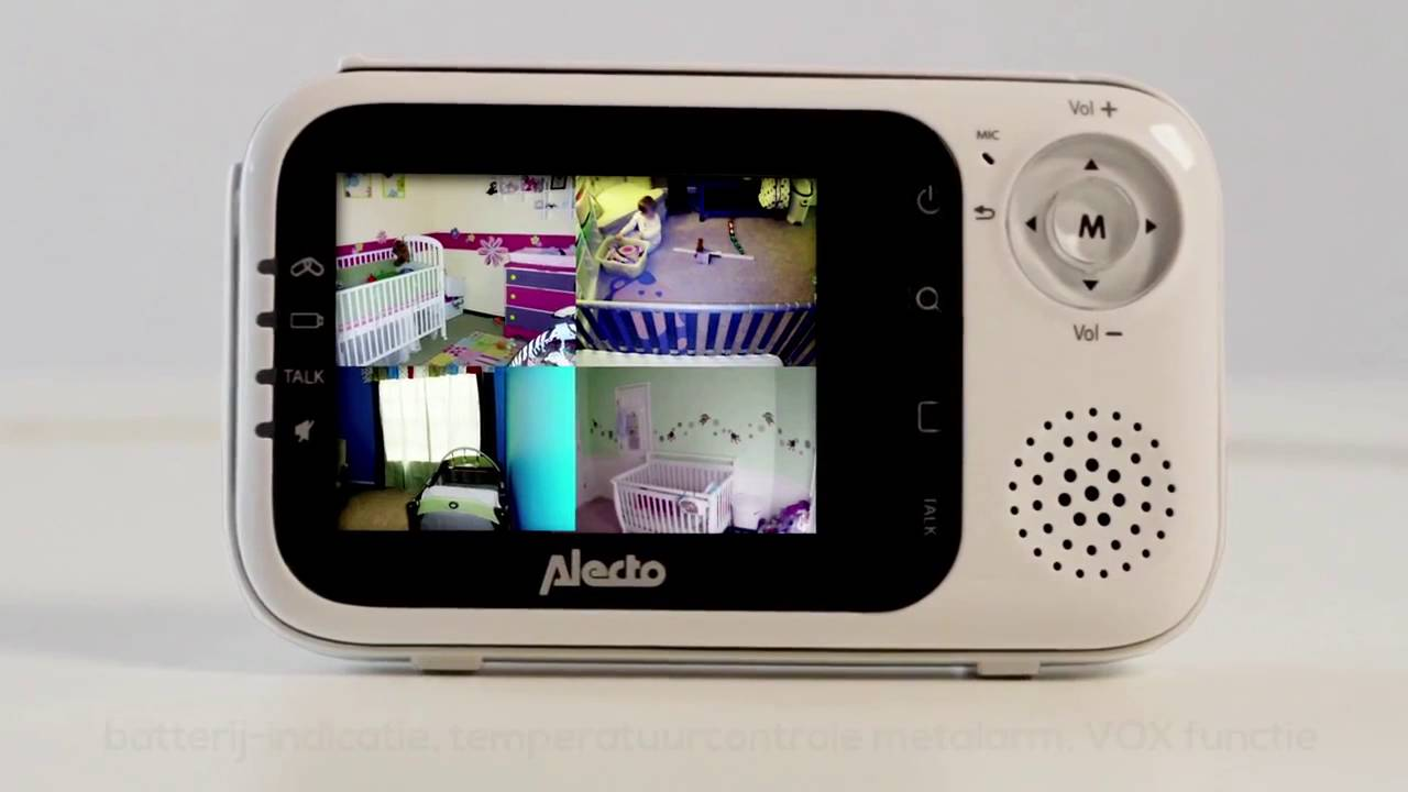 Alecto Dvm 80 Uitbreidbare Babyfoon Met Camera Youtube