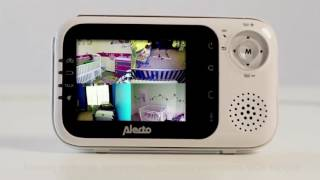 alecto dvm 80 uitbreidbare babyfoon met camera