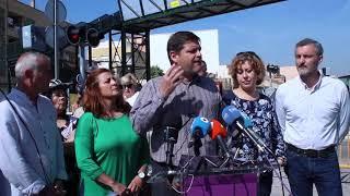 Podemos Región de Murcia denuncia el lamentable estado en el que está el servicio de cercanías