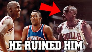 What You DON'T Know About The Michael Jordan & Isiah Thomas Feud in the NBA  (FT. Fights Walk Off)
