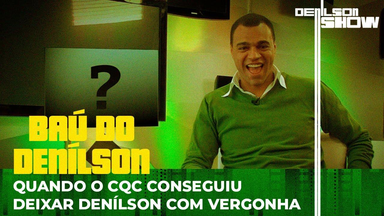 DENÍLSON FICA COM VERGONHA AO RESPONDER PERGUNTAS NO CQC | BAÚ DO DENÍLSON # 13