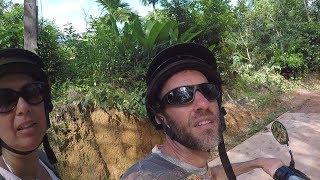 Random Motorbike Jungle Exploring on Ko Lanta, Thailand