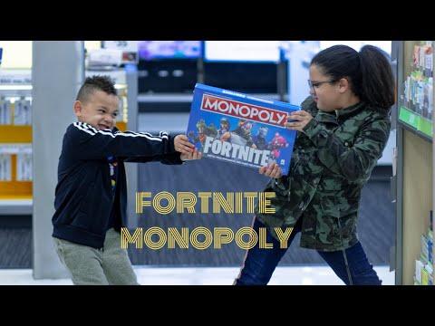 FORTNITE MONOPOLY TARGET HUNT