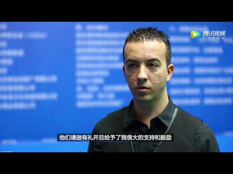 David Alcaide - Interview - World Chinese 8 Ball Masters Tour 2017-2018 Stop 2 Lianyungang - Spanish