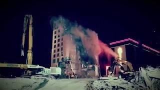 Las Vegas Club Demolition Nears Completion