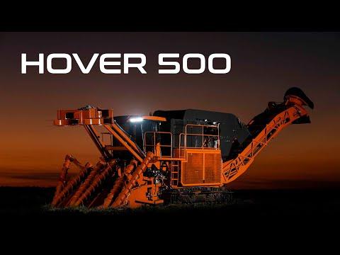 Hover 500 - Feita para conquistar o seu canavial.