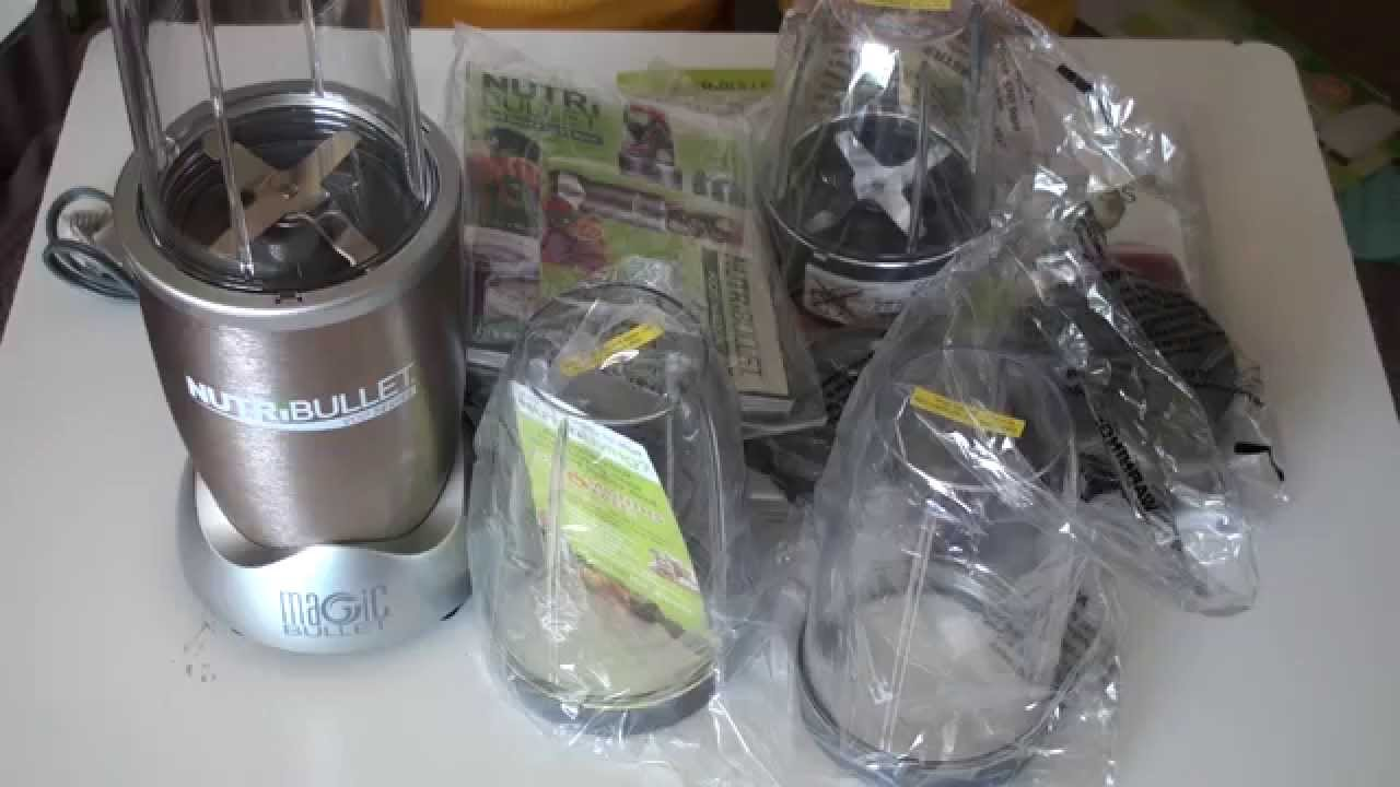 Magic Bullet NutriBullet Pro 900 Series - YouTube