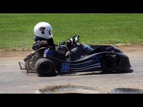 6/17/18 - Eriez Speedway - Sr. Light Flathead - Feature