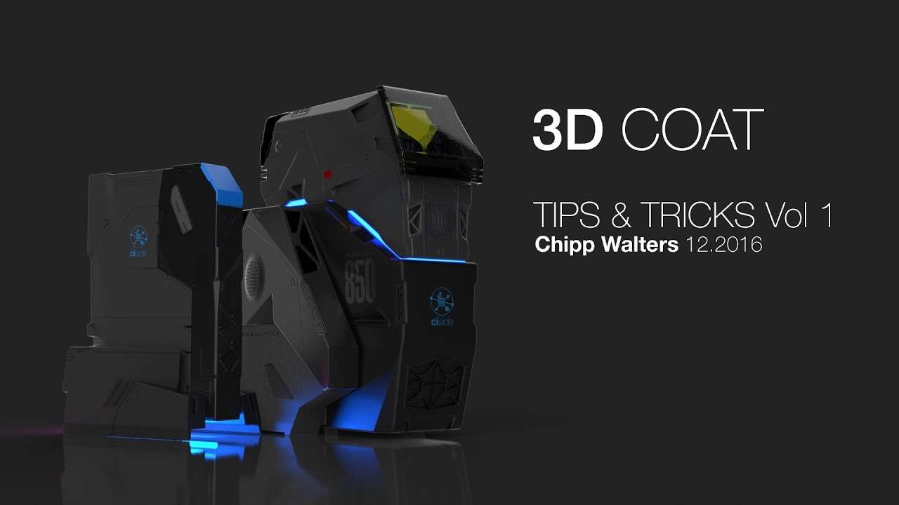 How to Create Hard Surface Models in 3D Coat - Lesterbanks