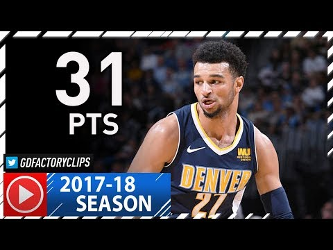Jamal Murray Full Highlights vs Pelicans (2017.11.17) - 31 Pts, Assassin!!
